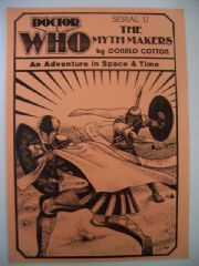 Doctor Who The Myth Makers CMS In-Vision RARE